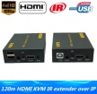 IP Network HDMI USB KVM Extender 120m Over TCP IP