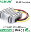 24V to 12V 10A  DC DC Converter 120W Step Down Voltage Regulator 24 volt to 12 volt