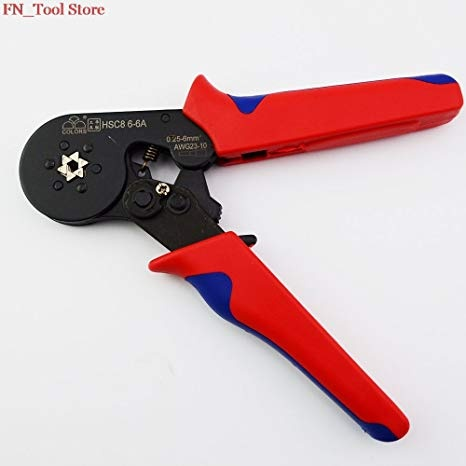Colors Crimp Pliers0.25 to 6mm HSC8 6-6A