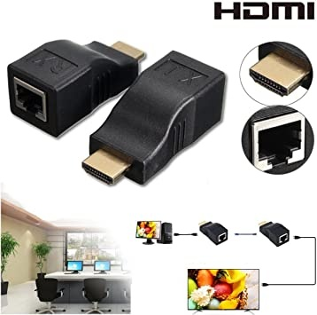 HDMI Passive Extender up to 30 Mt. Cat6