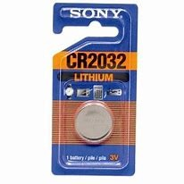 Sony lithium battery CR2032