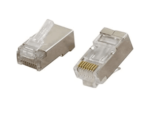 Cat6 FTP Connector 3U shielded